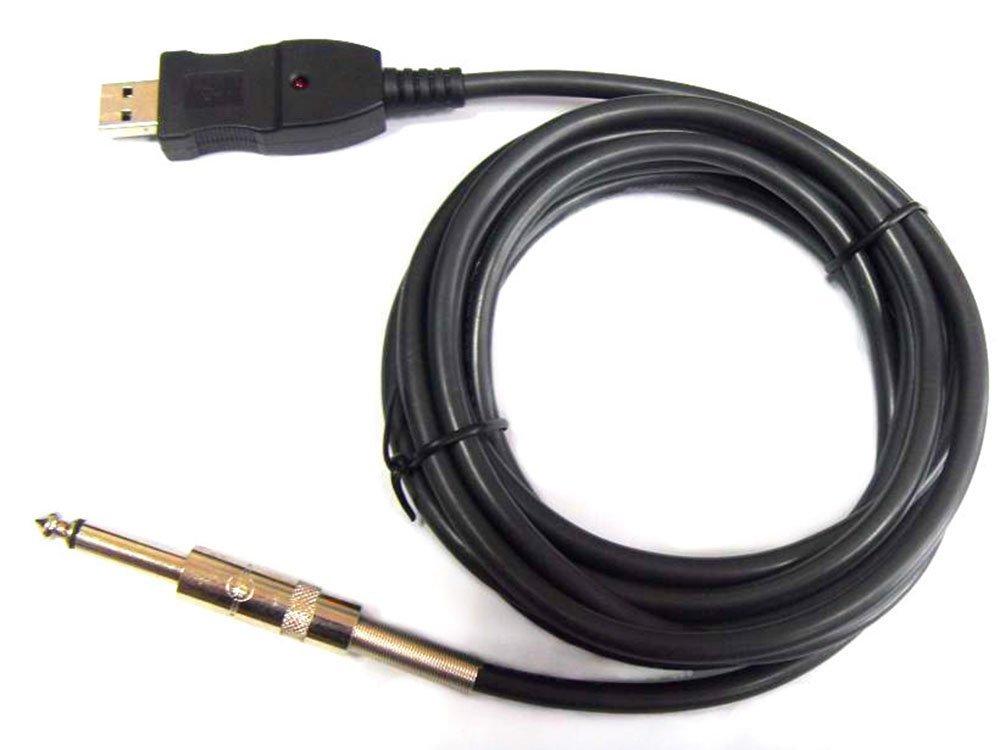 USB káblové gitary Jack 6,2 mm Rozhranie 3 m WWA