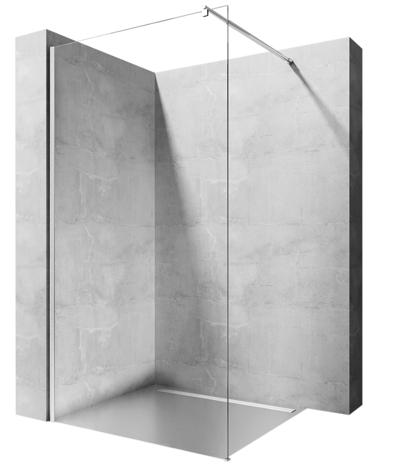 Sprchová zástena REA AERO110 WALK-IN 110 cm