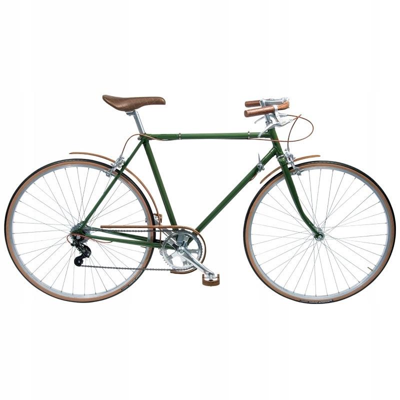 oceľový rám retro bicykel 58 surová cestná cesta