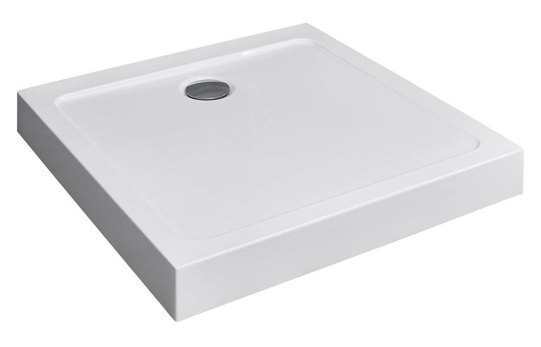 RADAWAY Doros C Compact štvorcová sprchová vanička 90x90