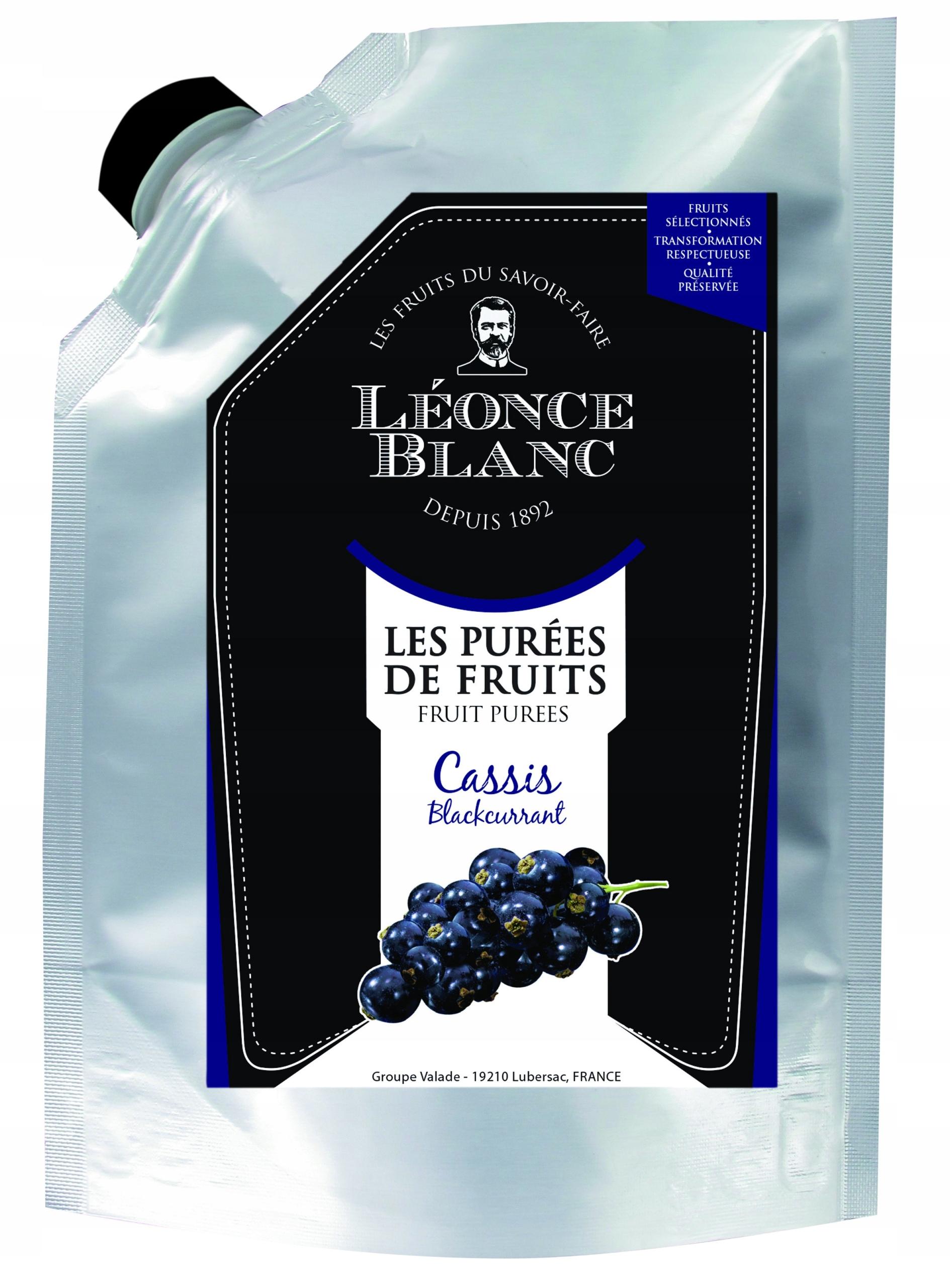 Пюре из плодов черной смородины, мякоть 1 кг
