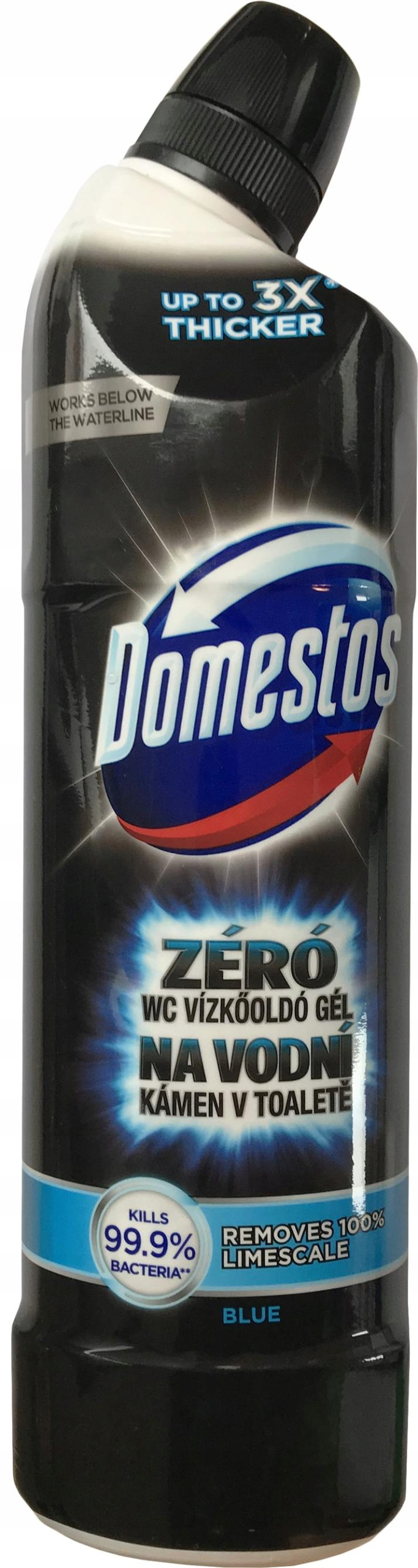 Domestos Zero Kamienia Blue Żel do WC Ocean 750ml