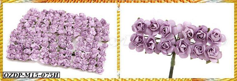 Купить Бумажные цветы на проволоке 1,5 см/светодиодные трубки 144pcs 15 цветов на Otpravka - цены и фото - доставка из Польши и стран Европы в Украину.