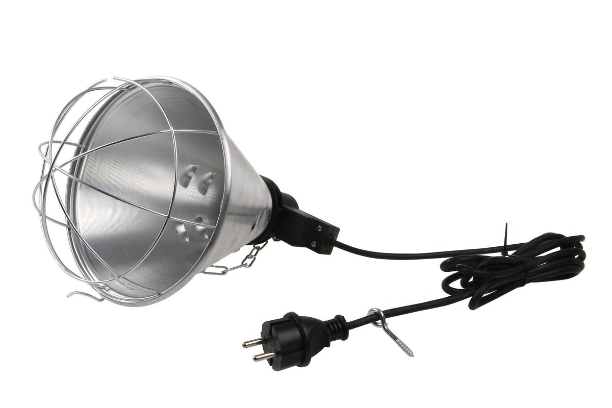 Vykurovacie svetlo montáž chladiča s prepínačom