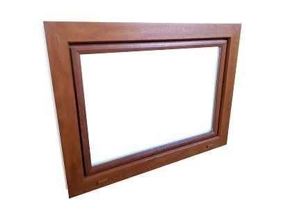 Okno 900 x 1000 inventárov garáž zlatý dub