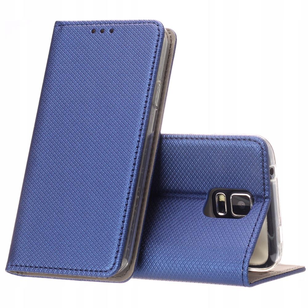 Etui Smart Magnet i Szkło Samsung Galaxy S5 S5 Neo