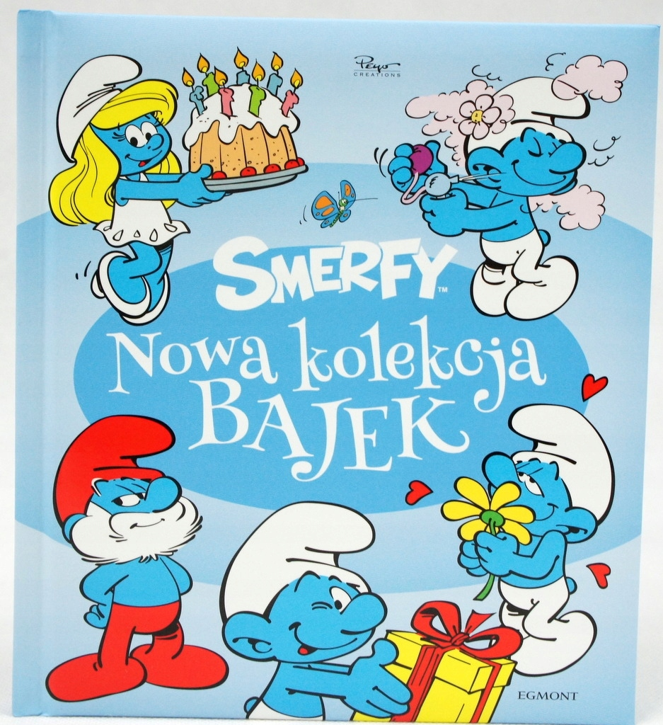 Item A NEW COLLECTION OF FAIRY TALES THE SMURFS KSIAŻKA FOR CHILDREN
