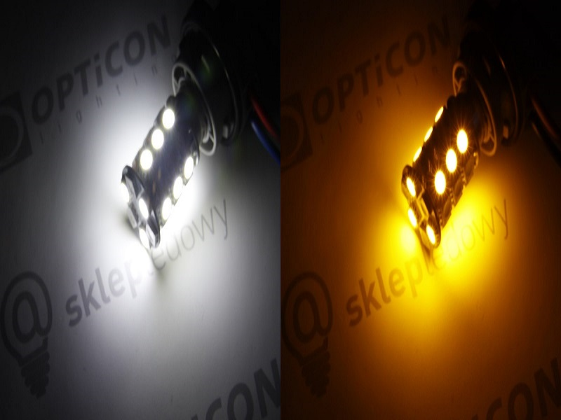 Żarówka Led Dual Color P21/5W Bay15d 1157 12V USA Rodzaj LED