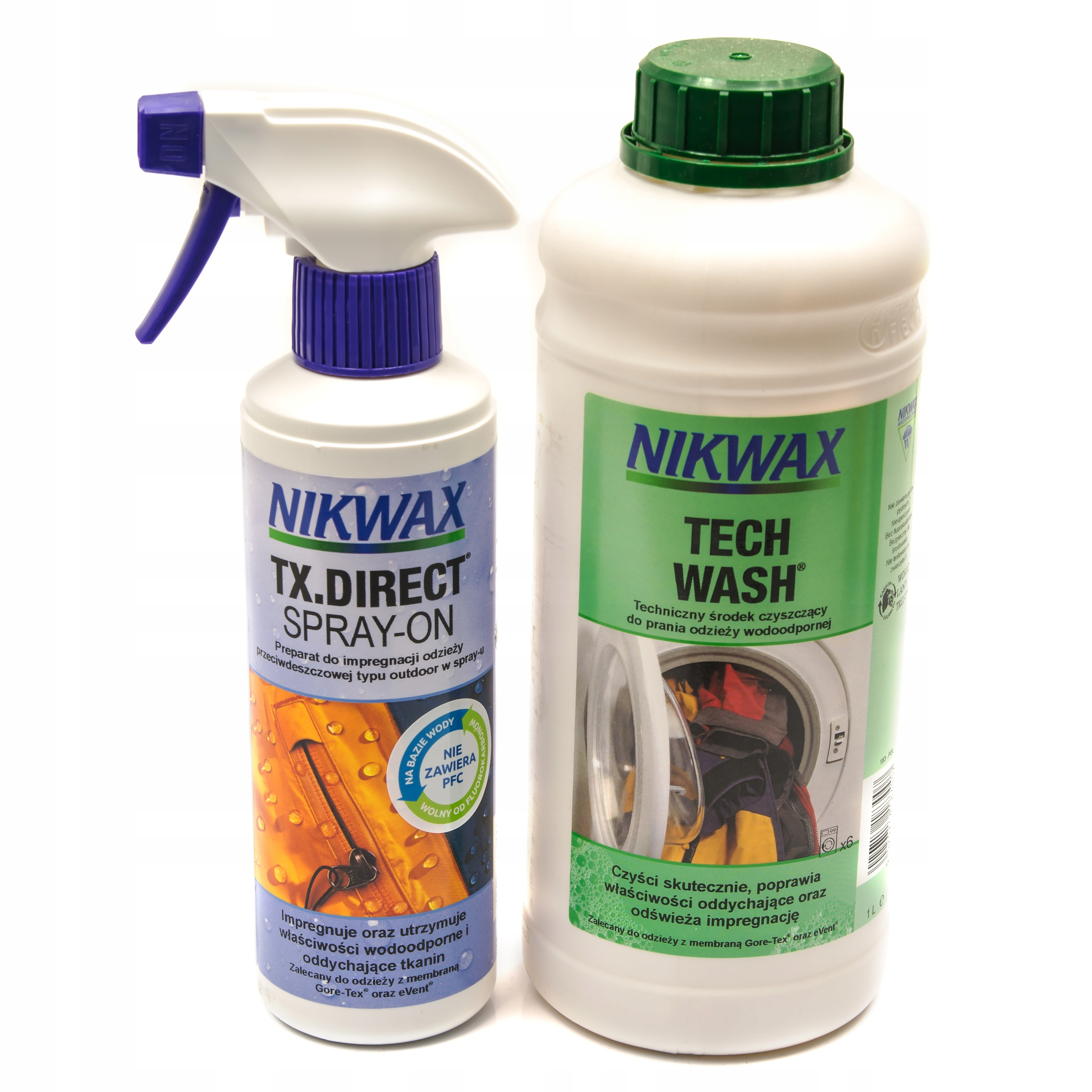 NIKWAX TECH WASH 1LITR + ПРОПИТКА TX.DIRECT SPRAY