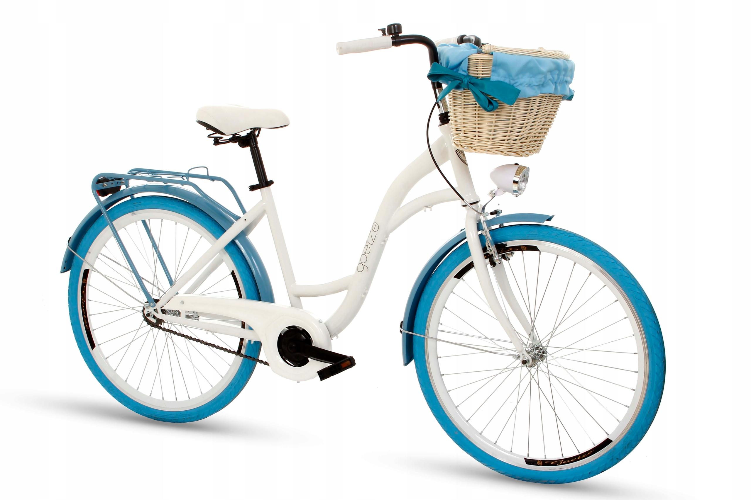 Dámsky mestský bicykel Goetze COLORS 26 košík!  Váha 16 kg
