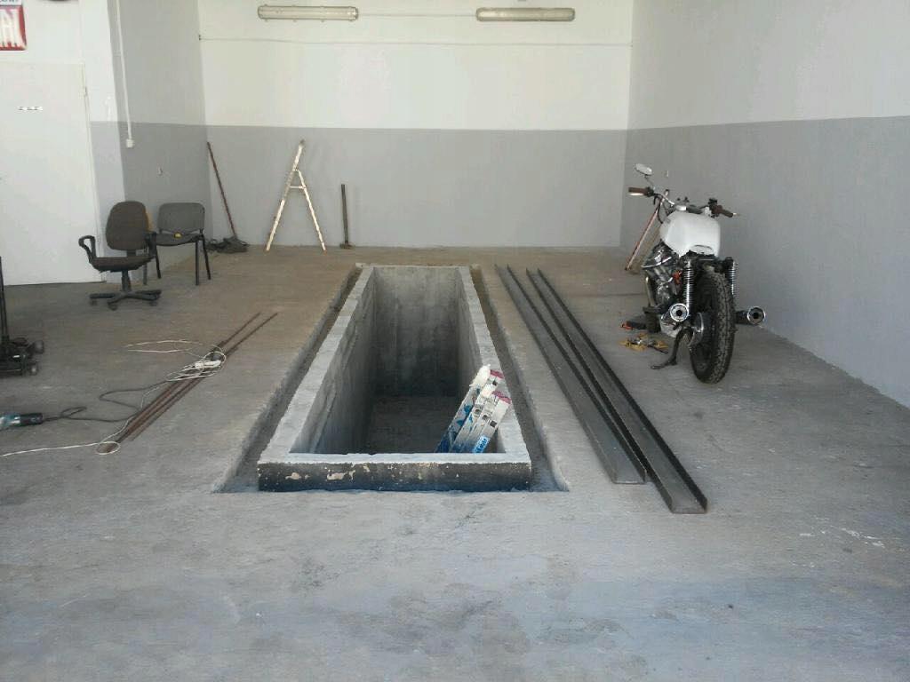 TANI Kanał samochodowy betonowy Gotowe Kanały 3,5m