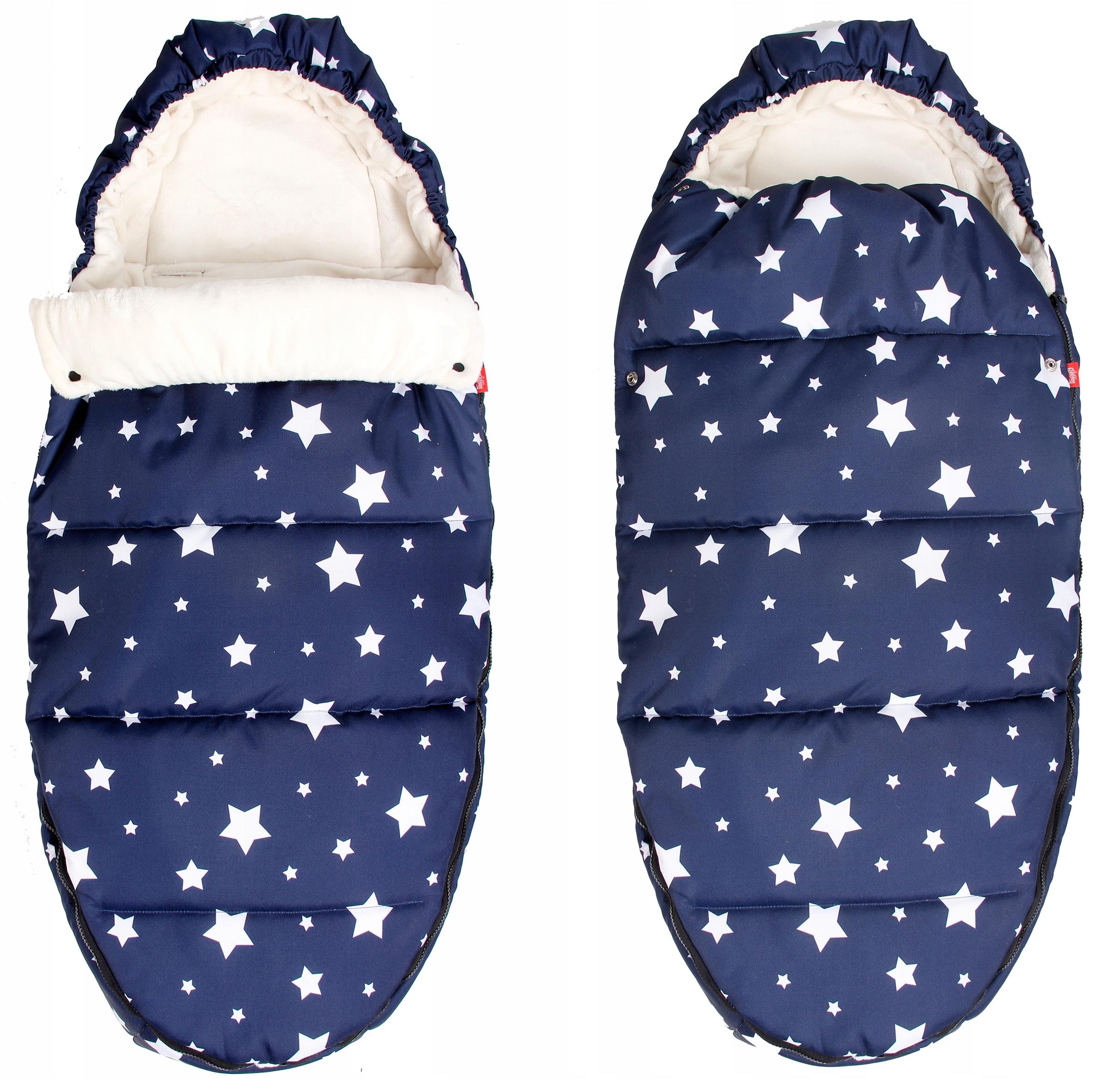 4 IN1 WARM MINKY SLEEPING BAG 105 CM DESIGNS 2018/19