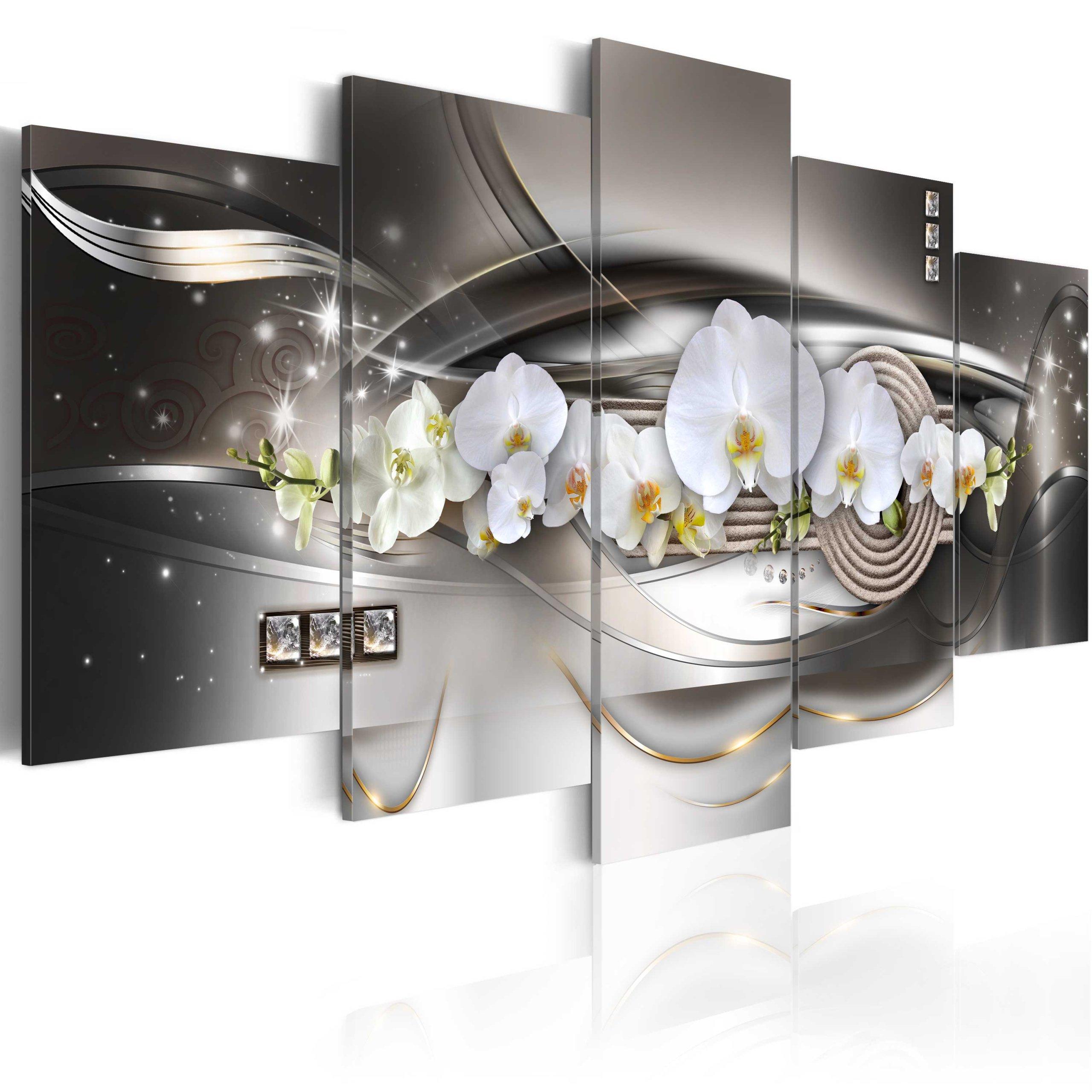 Obrázok 5 dielov 200x100 cm orchidea A-A-0056-B-N