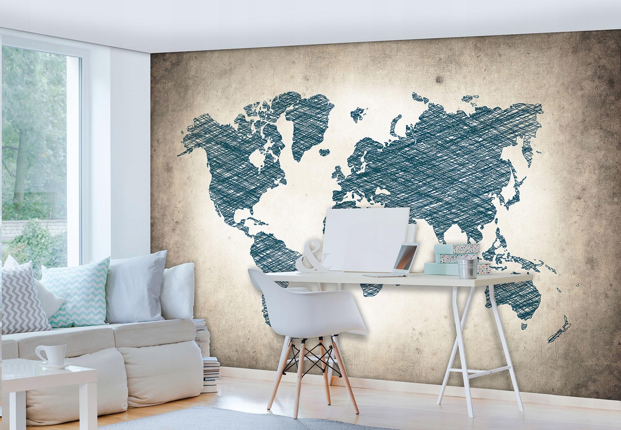 или фотопанно карта мира картой очень