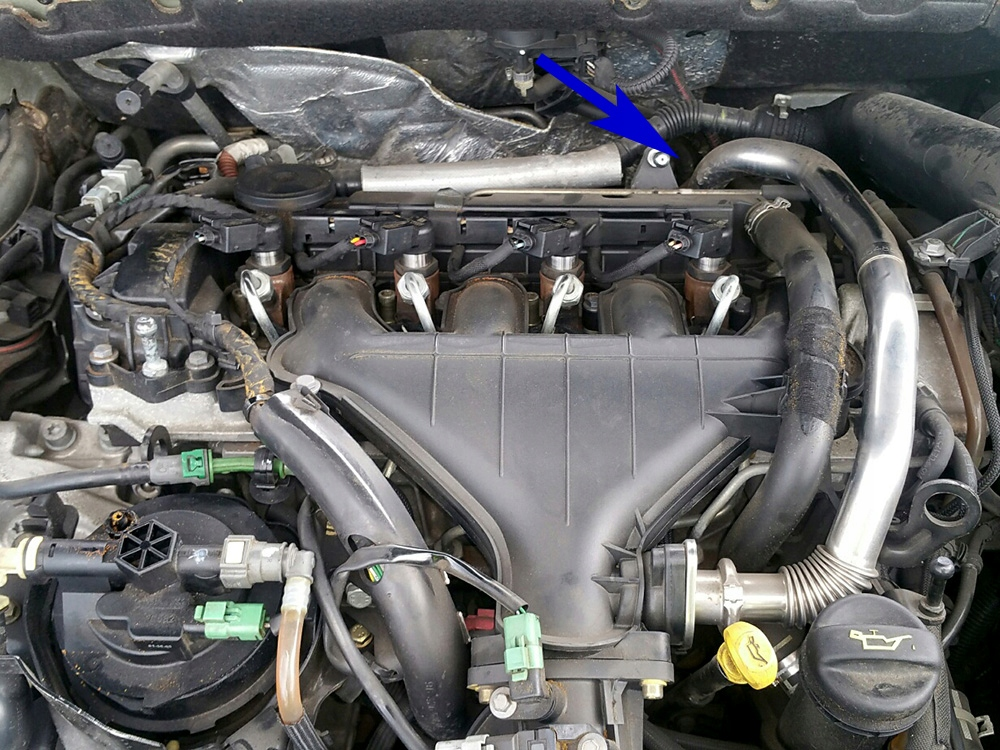 11. Zaślepka EGR Peugeot Citroen Ford 2.0 HDI TDCi