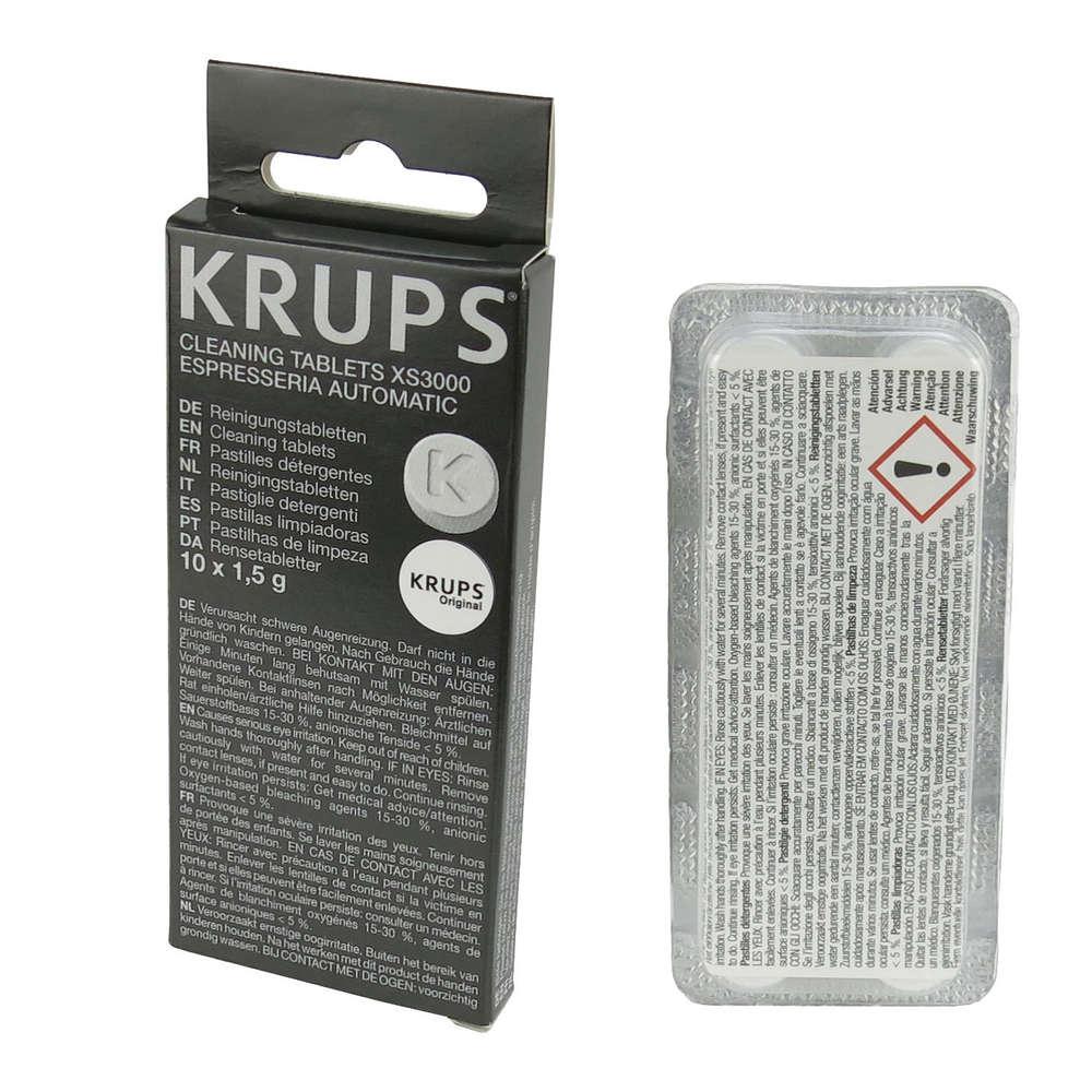 KRUPS XS3000 - Очистка таблетки для кофемашины