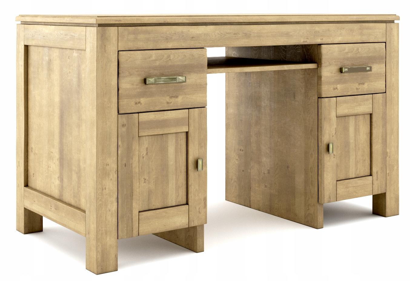 Stôl Vintage masívny Stôl vyrobený z brezy - na-rok