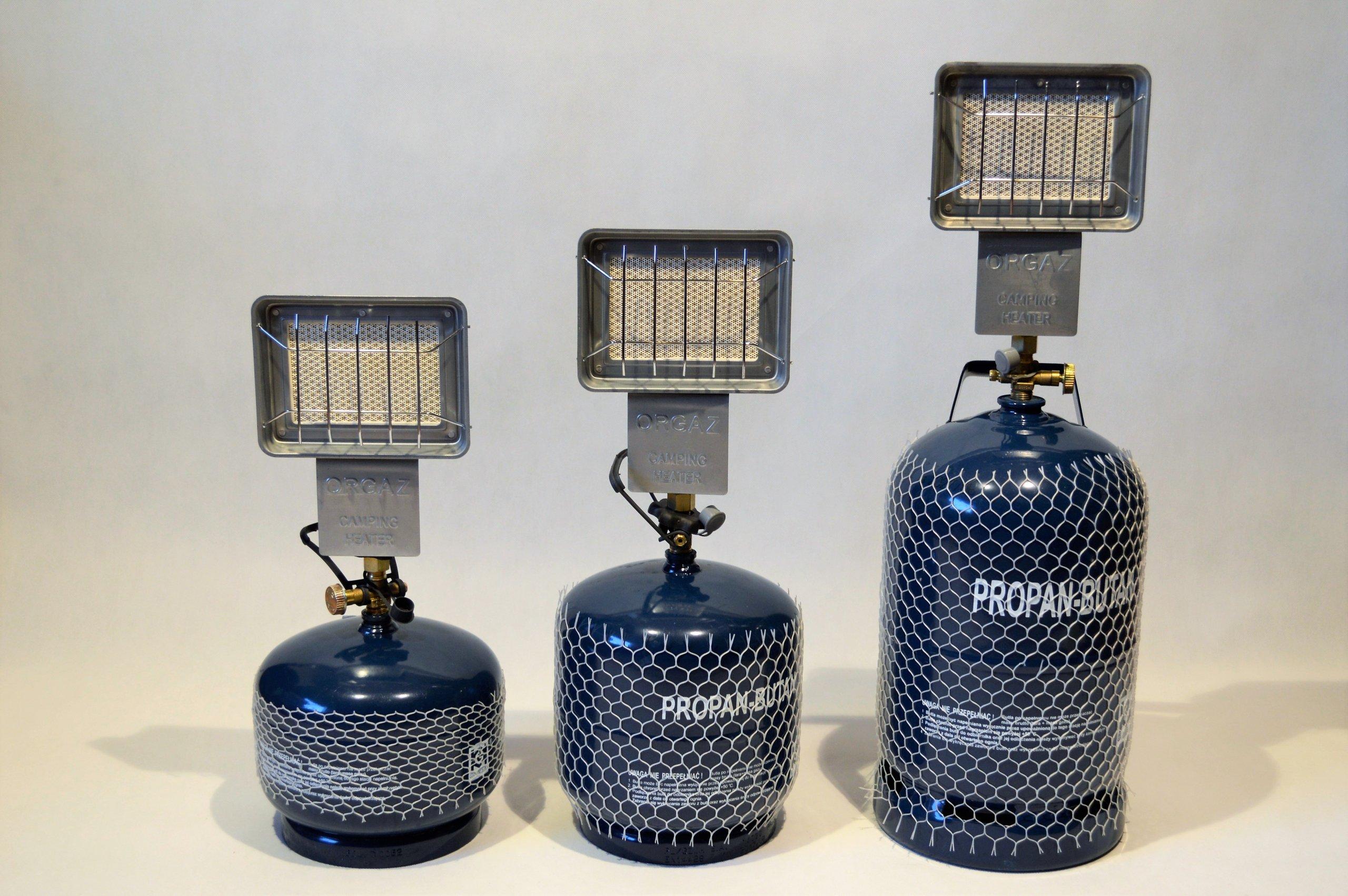 Plyn keramický ohrievač pre cestovanie kontajner