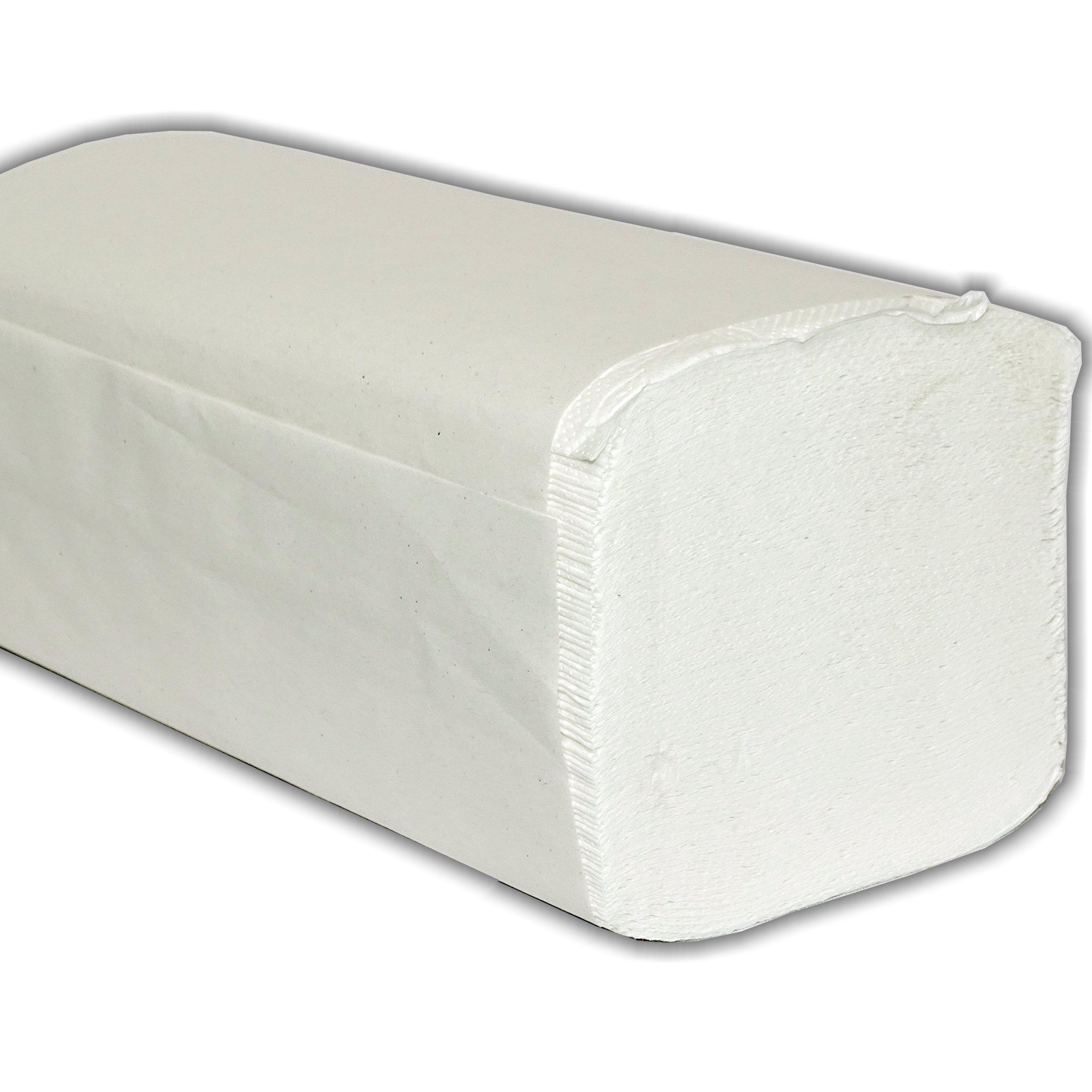 Полотенца бумажные ZZ 2-слоя 100% ЦЕЛЛЮЛОЗА, БЕЛЫЕ