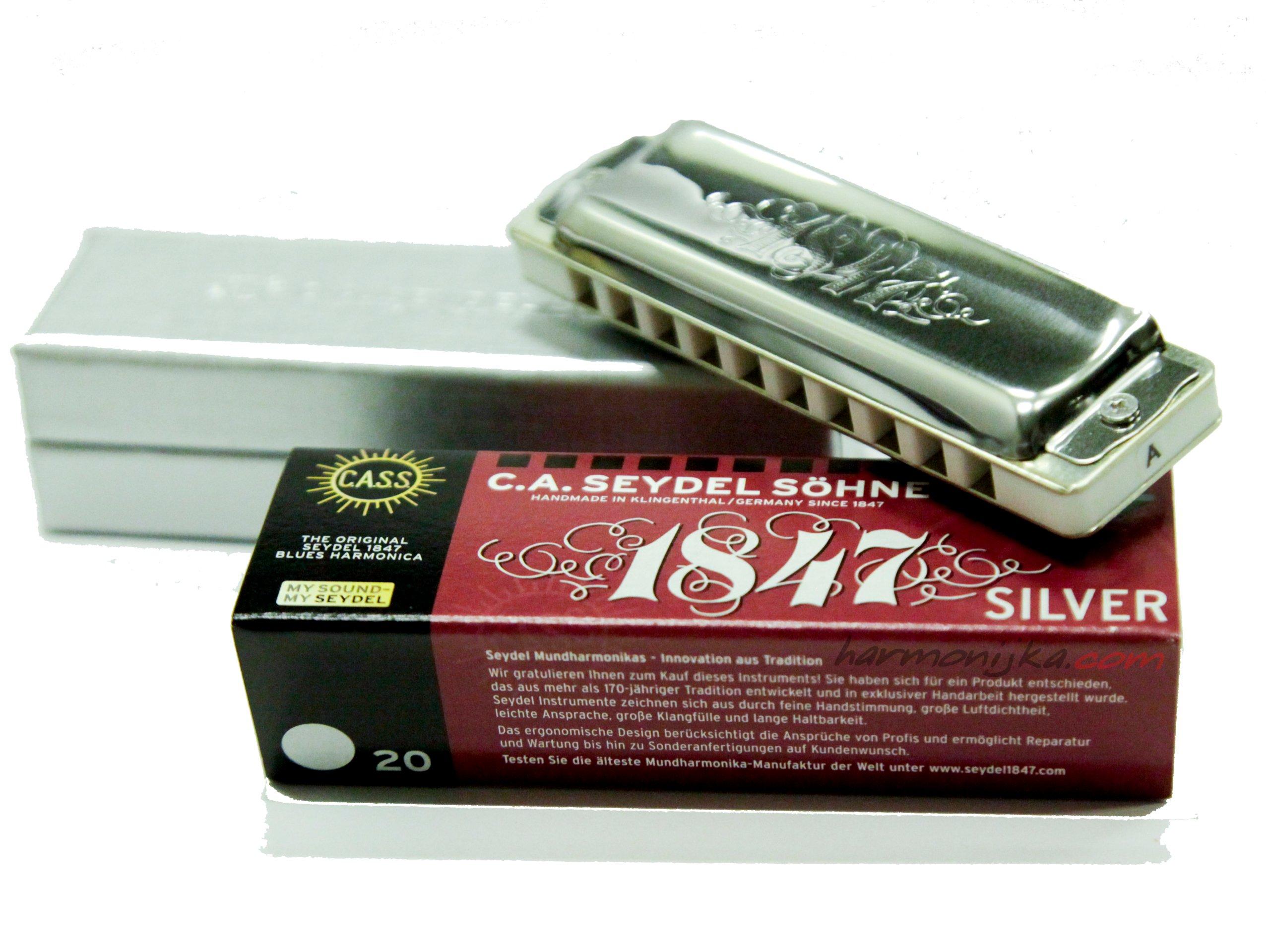 Harmonika Seydel 1847 Silver - veľký výber tónovania