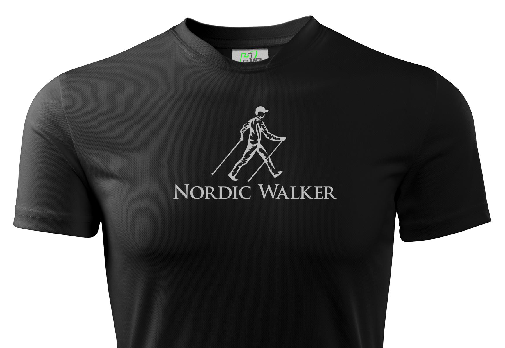 Pohodlné severské tričko HVR Thermal Walking