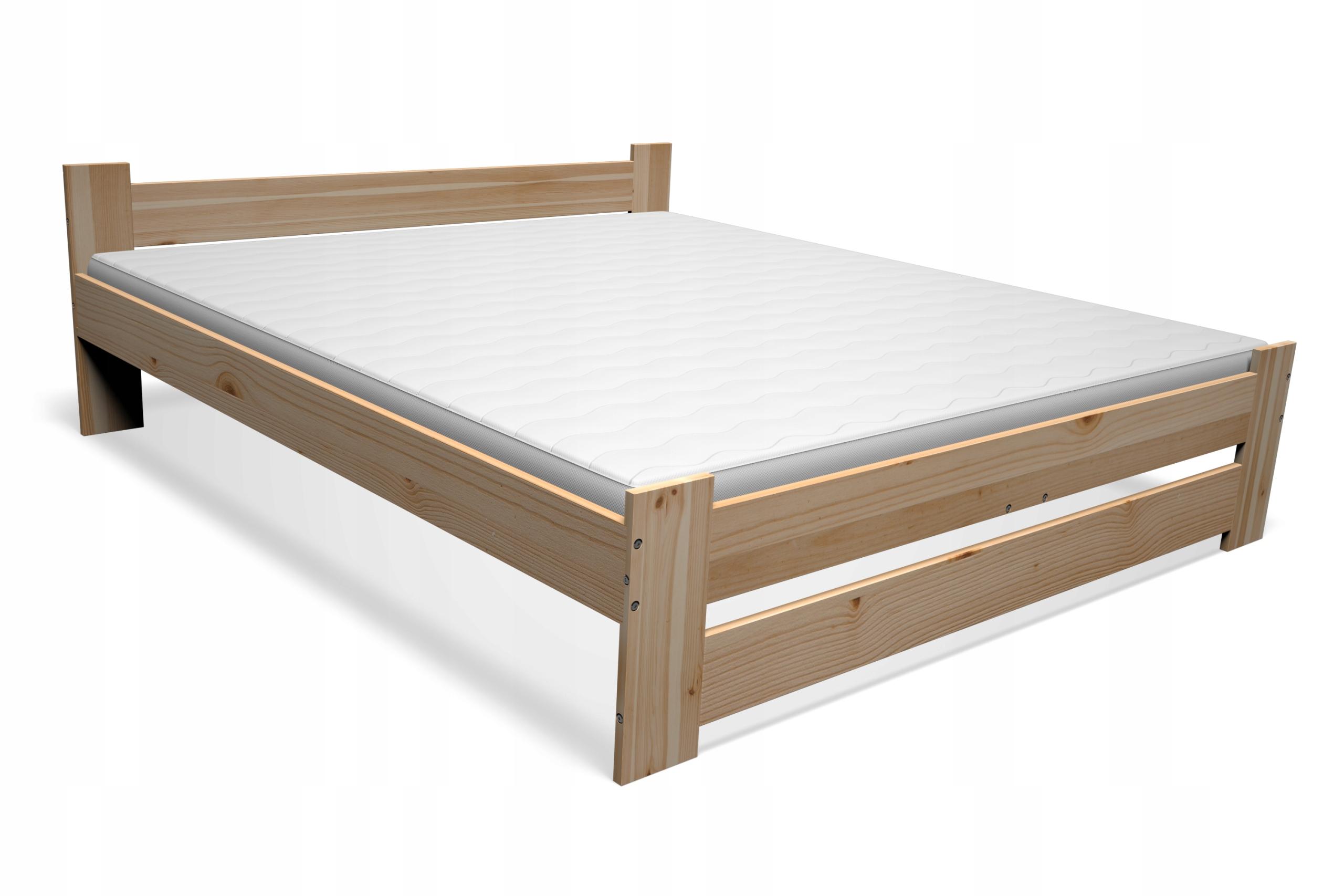 кровать деревянные сосна 160х200 + КАРКАС + МАТРАС