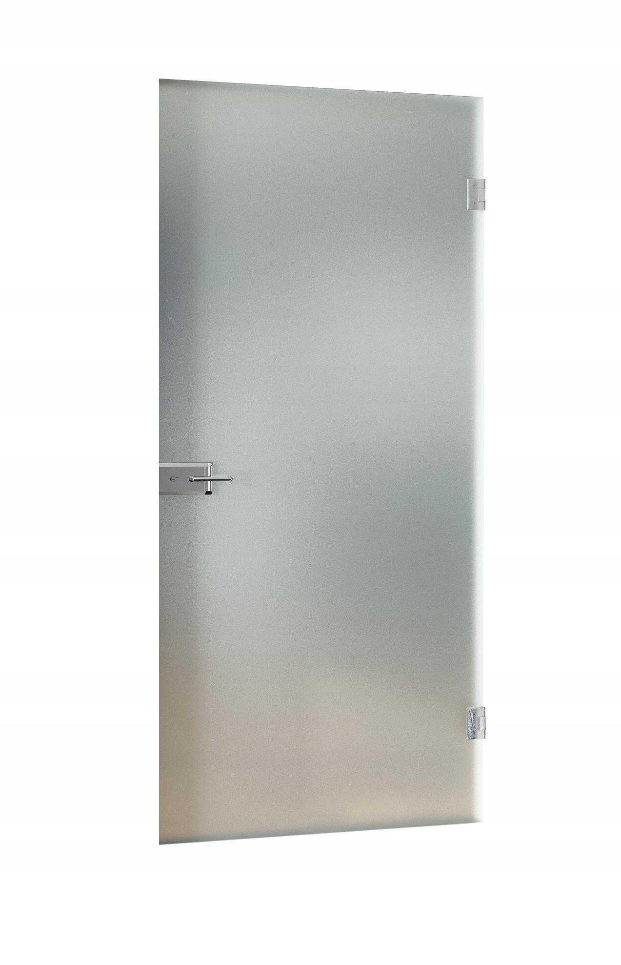 Drzwi Szklane System Bez Ościeżnic Z Zamkiem