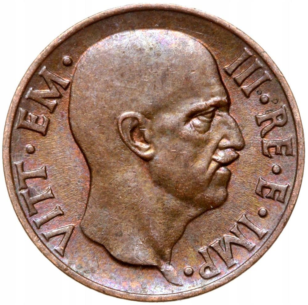 Taliansko - Wiktor Emanuel III - 5 CENTESIMI 1938