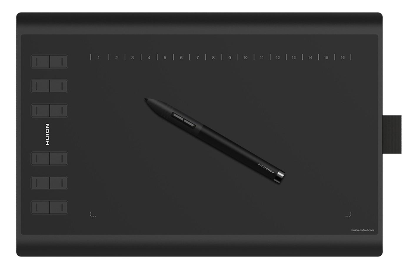 Item Graphic tablet Huion 1060 PLUS 8192 5080 LPI art.