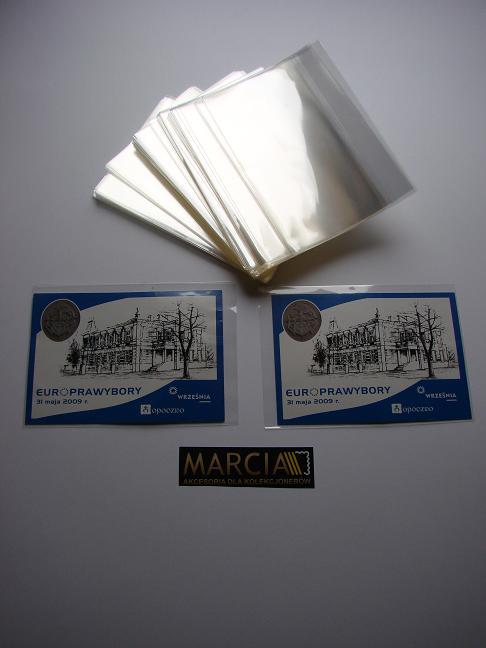 Kieszonki Ochronne 250g na pocztówki itp 160 x 113