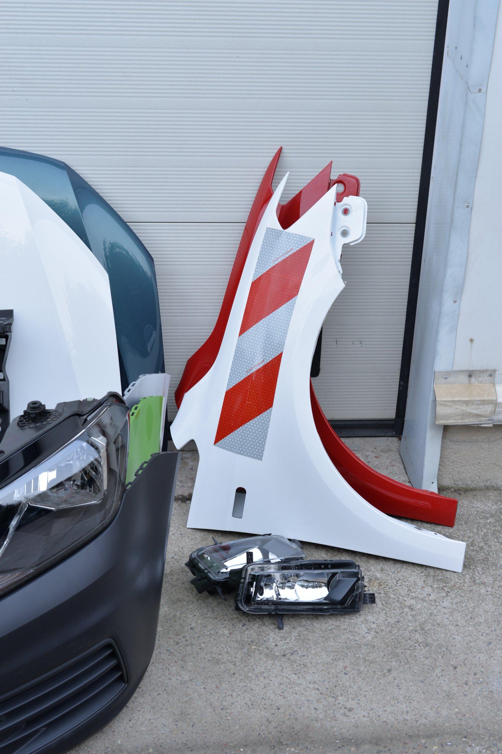 [КАПОТ ZDERZAK КРЫЛО LAMPA PAS VW CADDY 2015- 2K5 из Польши]изображение 9