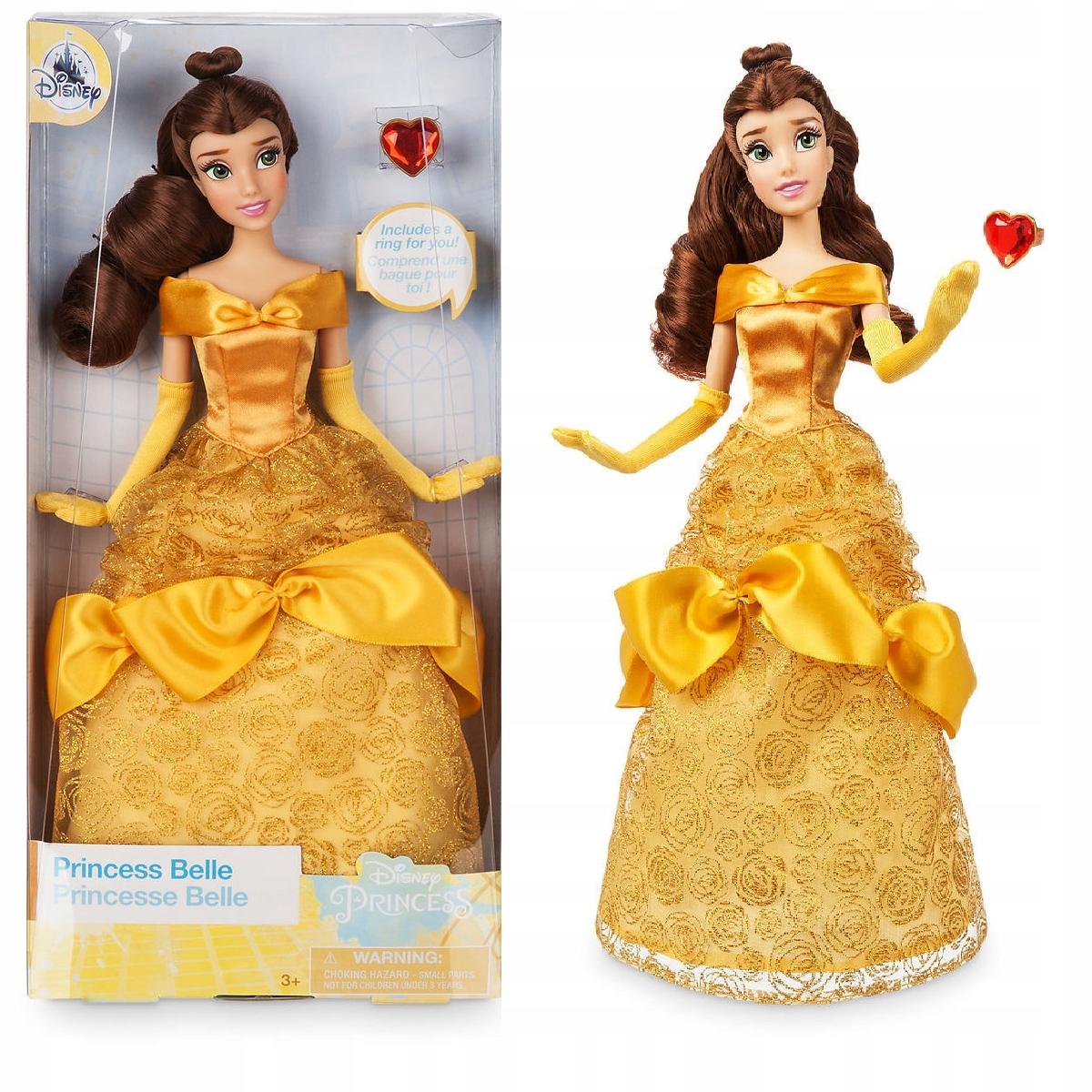 Kráska a zviera Bella 30cm + RING Disney obchod 24H