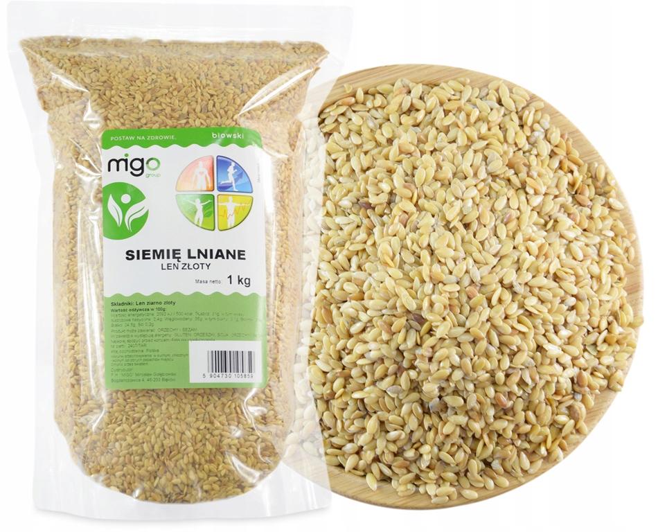 ЗОЛОТОЕ Льняное зерно - ЗОЛОТОЕ льняное семя - MIGOgroup