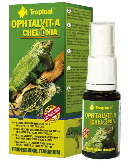 Tropické OPHTALVIT-A Chelónsko