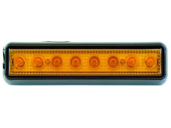 mocna Lampa LED migająca 20cm błyskowa stroboskop