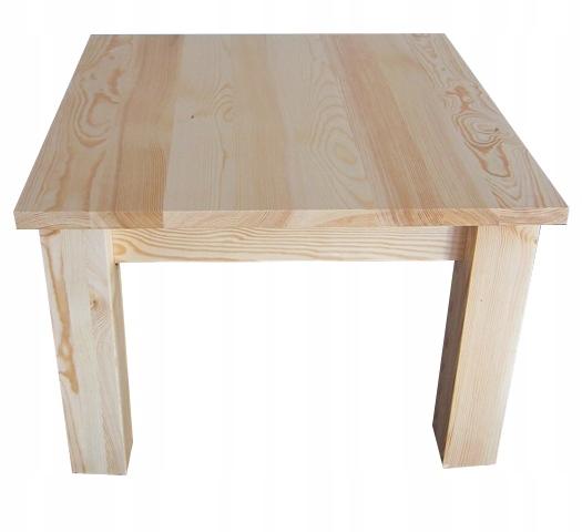 Stół drewniany sosnowy 100x70 ELEGANCKI NOWOCZESNY Kolor mebla inny kolor