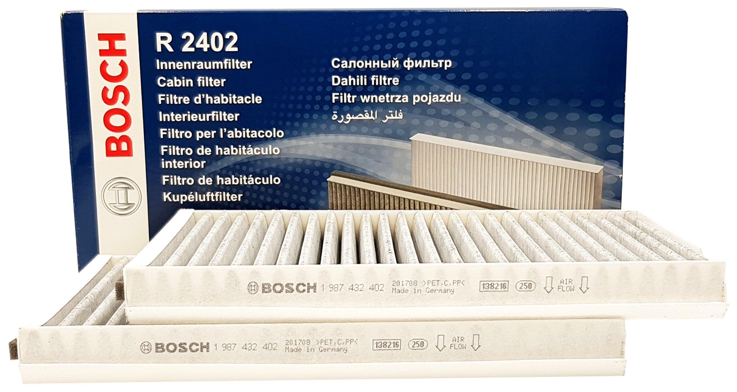 bosch фильтр кабины угольный bmw 5 e60 e61 комплект