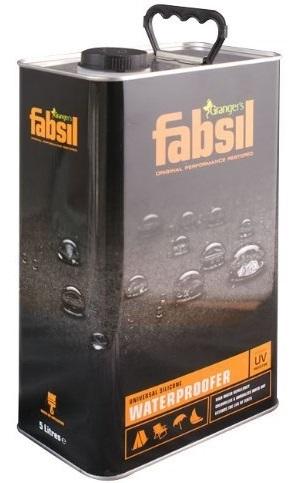FABSIL silikónová impregnácia pre stany UV ochrany 5L