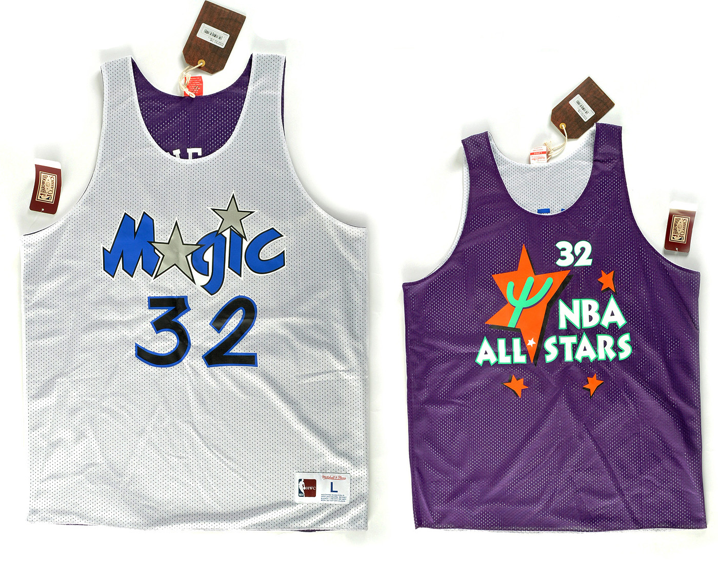 Mike bilaterálne Mitchell Ness XL'Neal Magic