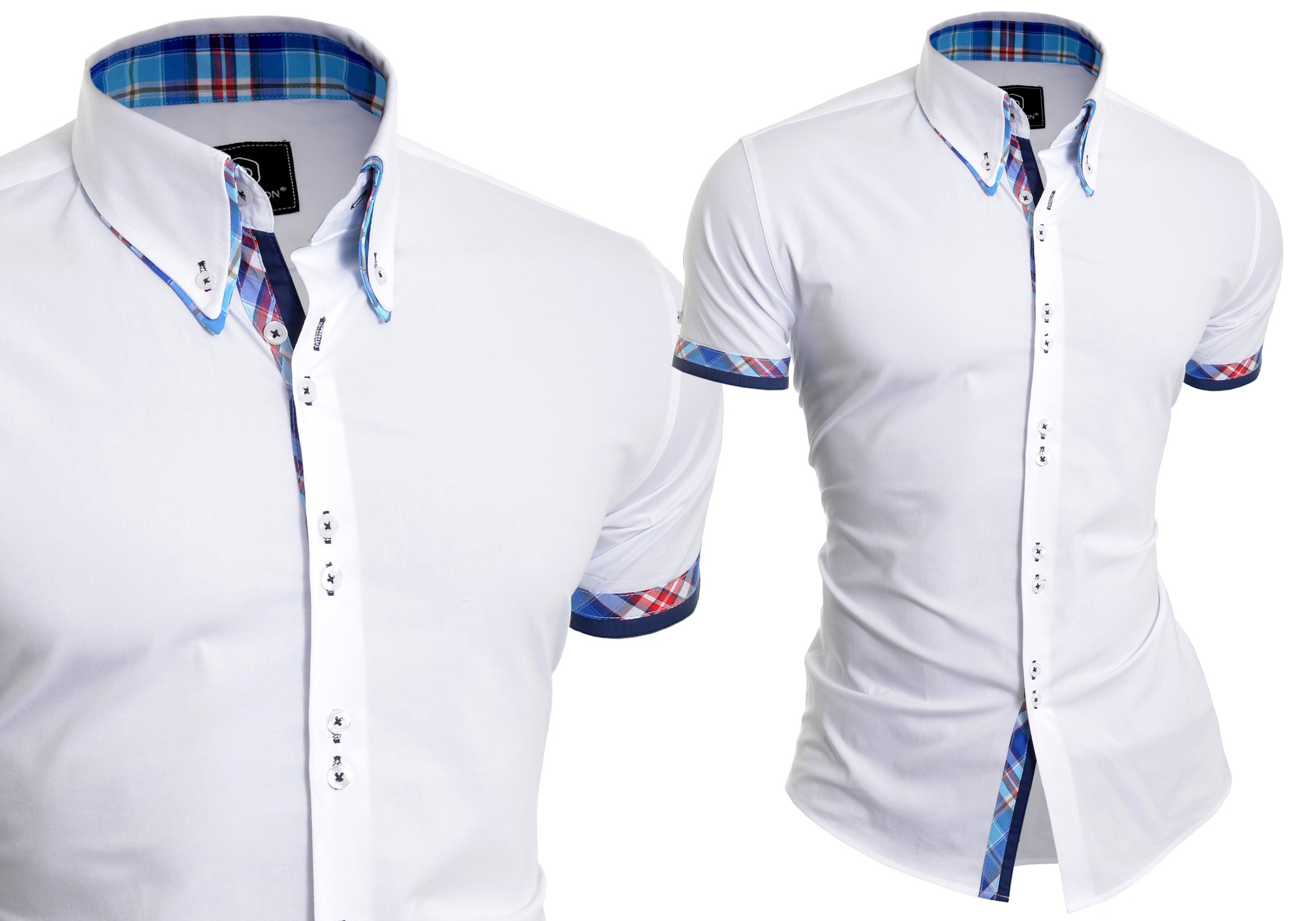 Koszula Męska Elegancka Biała Ślub Prezent Wesele 7415429246
