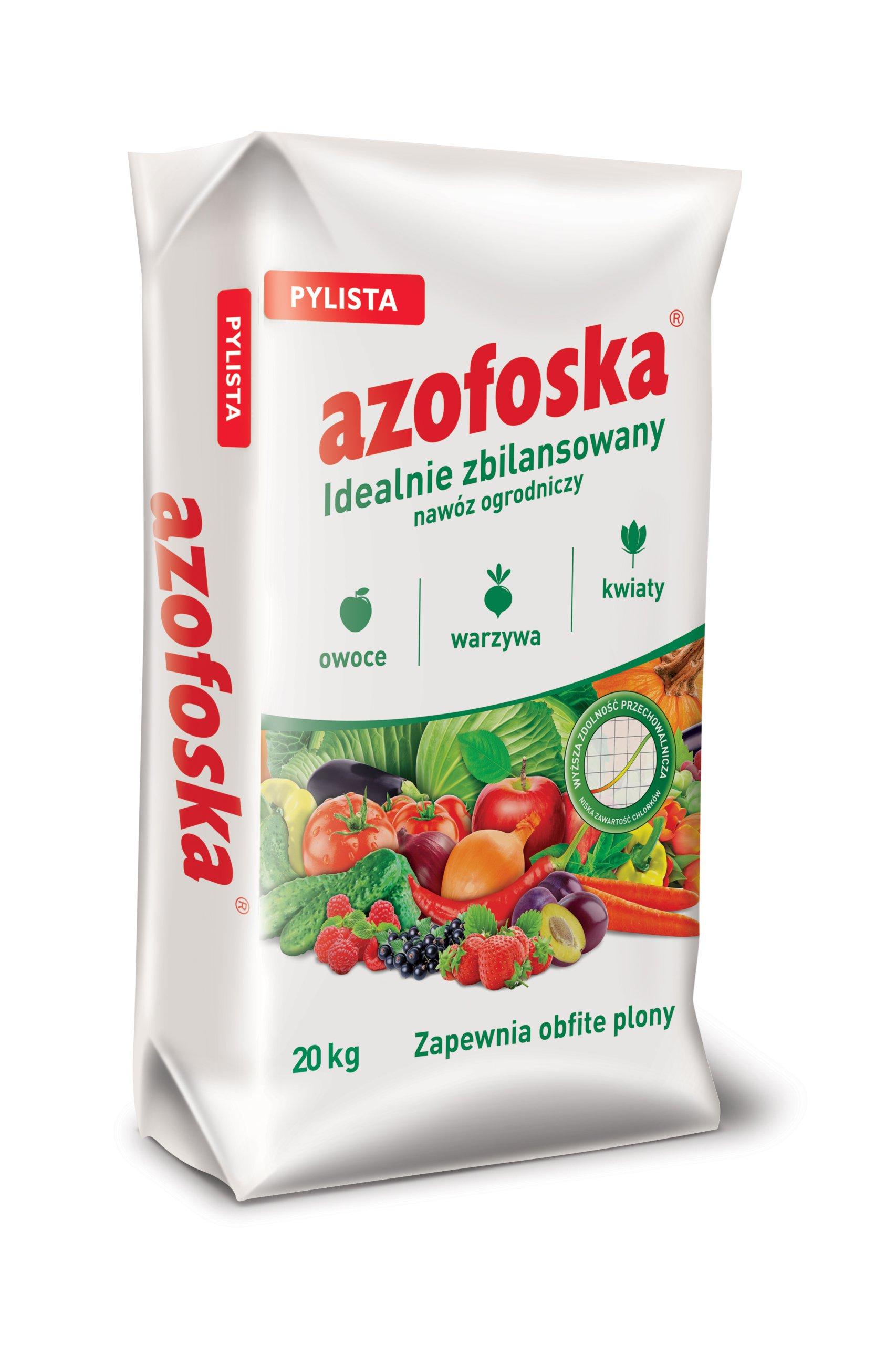 PYLISTA 20kg AZOFOSKA hnojív, KOSAČKY, Apple sadu, BOROVICA NPK
