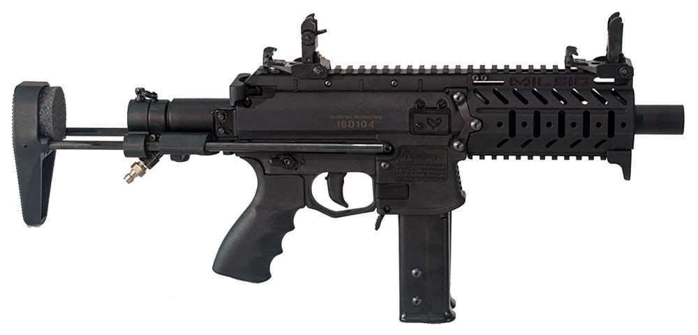 Milsig M17 SMG – marker pre paintball
