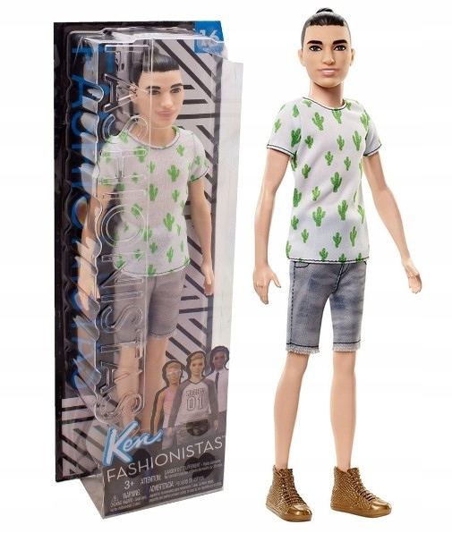 Barbie Fashionistas Štýlový Ken Mattel FJF74