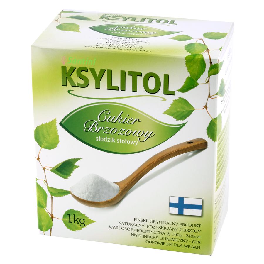 Xylitol cukru, breza 2 x 1 kg balenie Santiniho