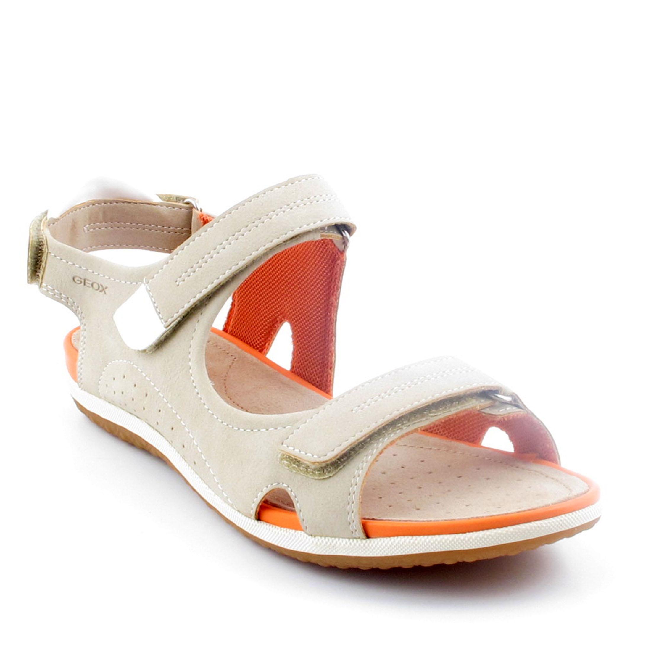 09399ac776477 GEOX VEGA D52R6A beżowe sandały PSZCZYNA r 41 7209223671 - Allegro.pl