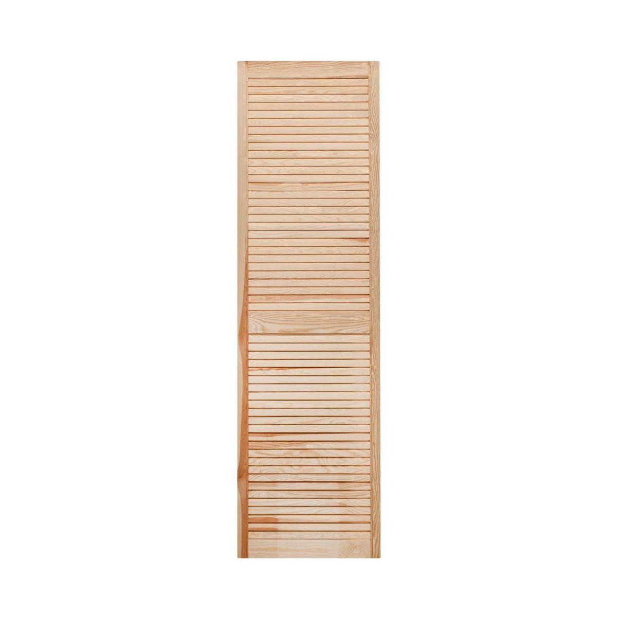 Openwork dvere 39,4 cm x 242,2 cm, predné, drevo