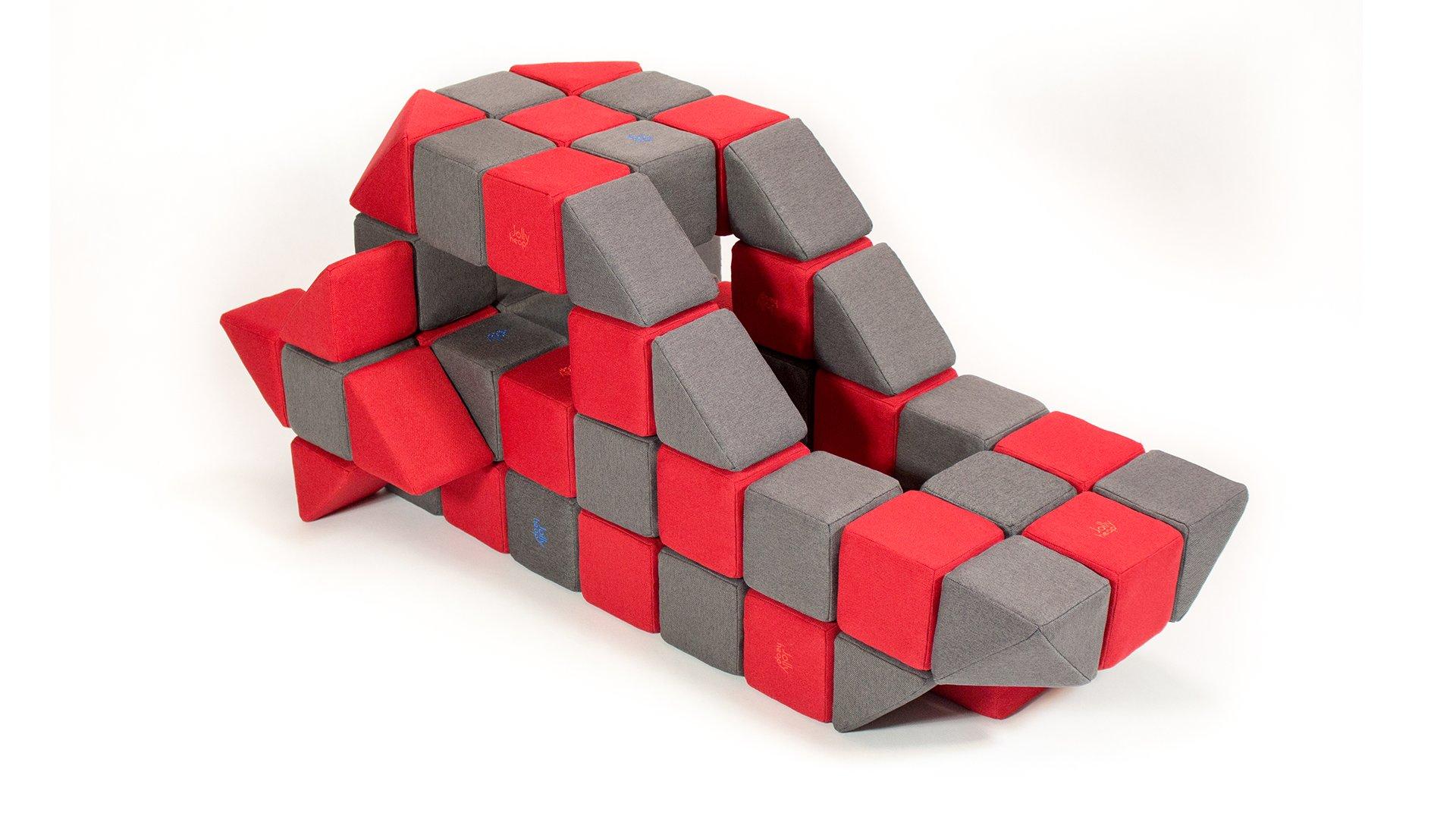 Magnetické bloky JollyHeap 50 ks.