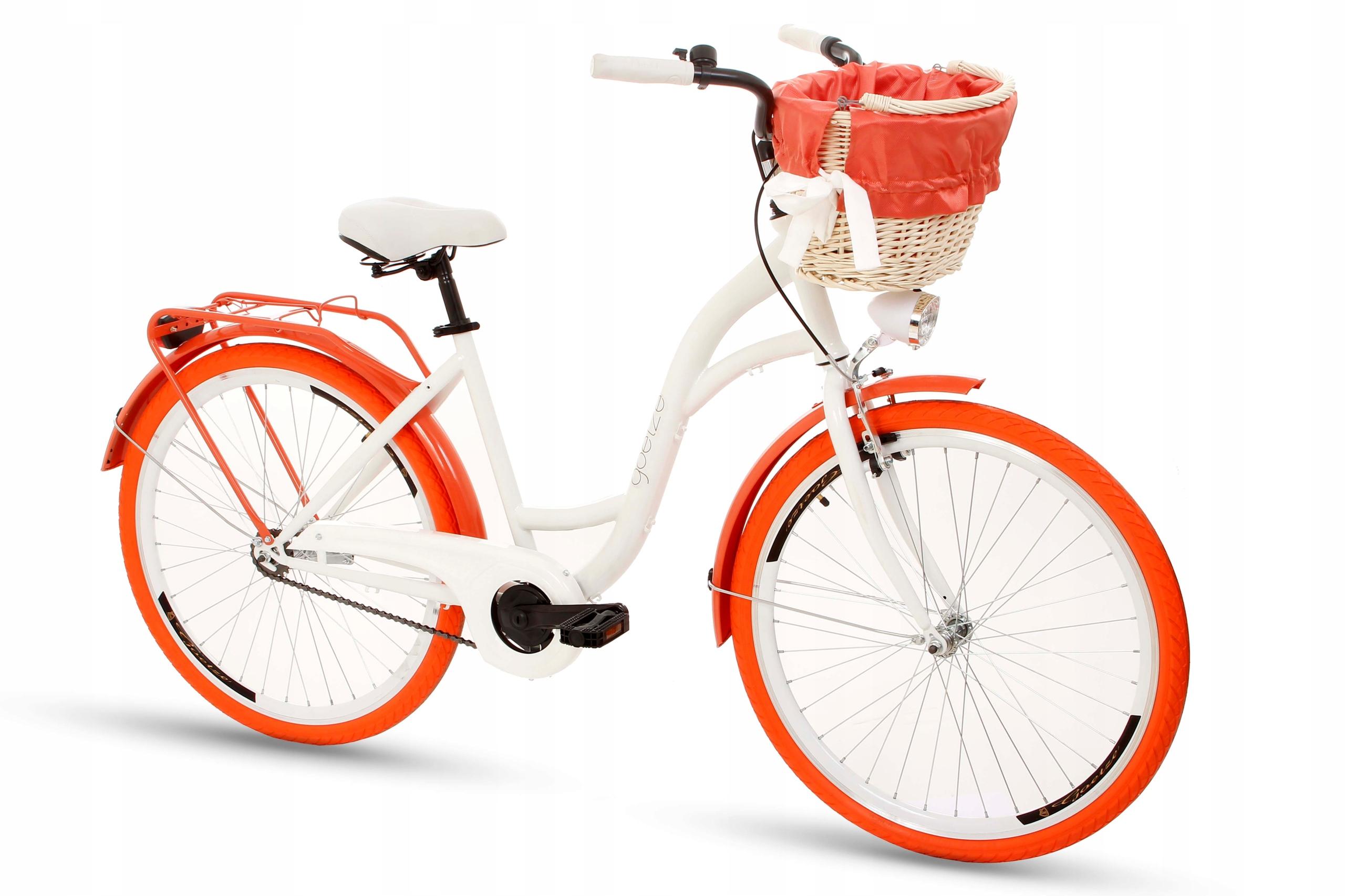 Dámsky mestský bicykel Goetze COLORS 26 košík!  Chýbajú odpisy
