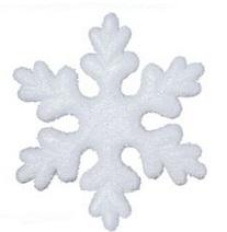 Styrofoam Snowflake Vločky 21cm 1PC