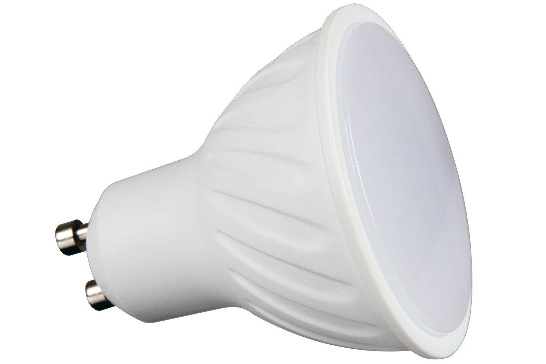 СВЕТОДИОДНАЯ лампа GU10 SMD 2835 ТЕПЛА 50 вт 480lm 5W 230V доставка товаров из Польши и Allegro на русском